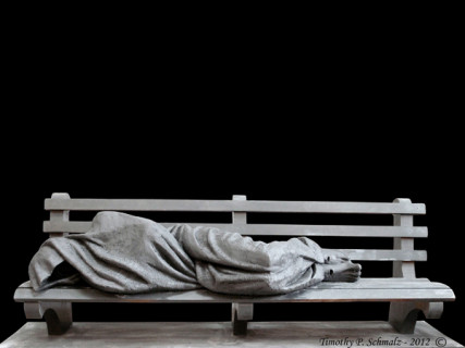 Jesus the Homeless by Timothy Schmalz