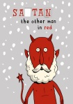 Satan the Other Man in Red