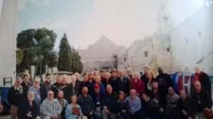 Pilgrims at Chuch of the Nativity