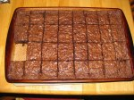 brownies piece missing
